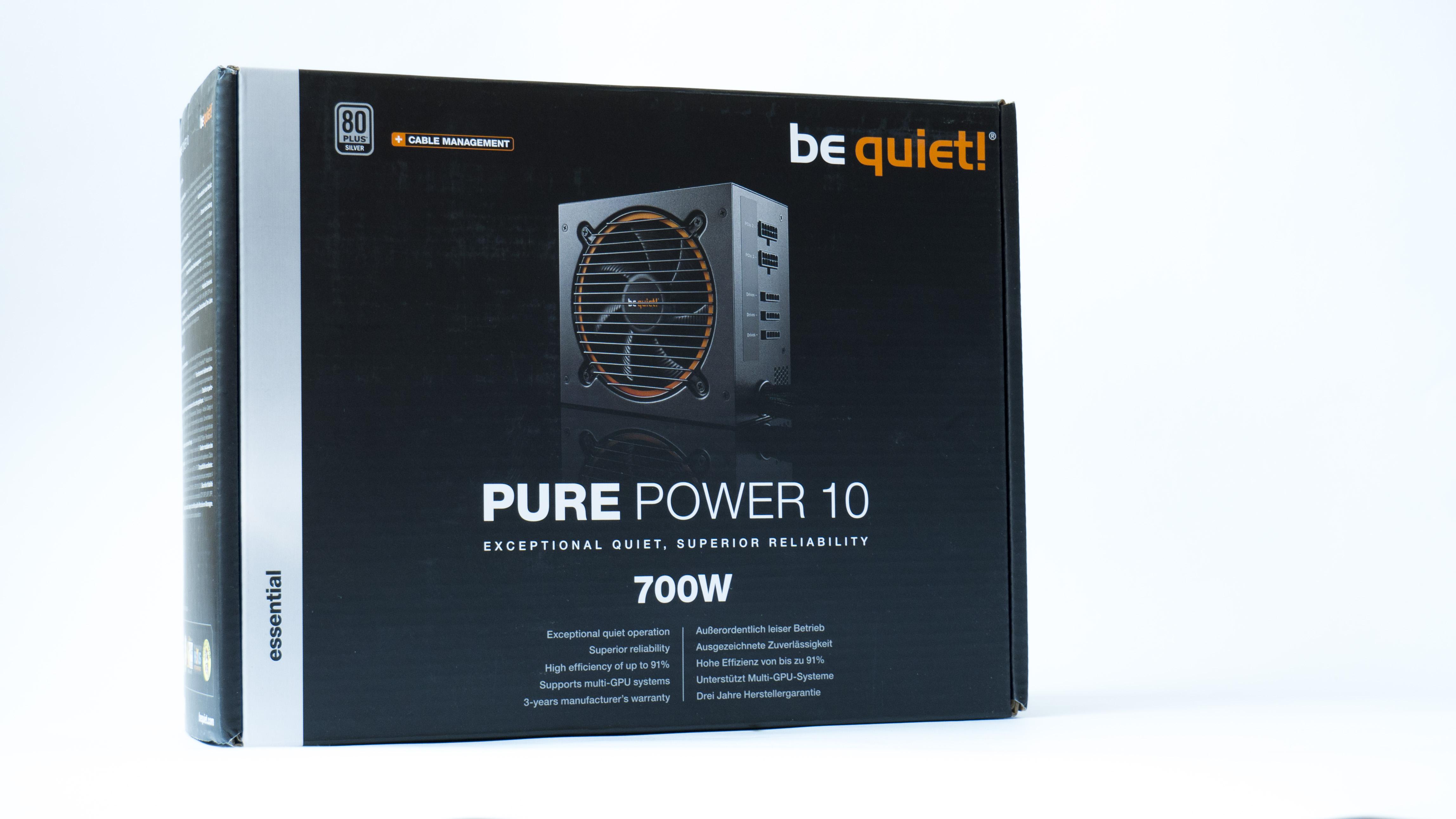 BeQuiet pure power 10