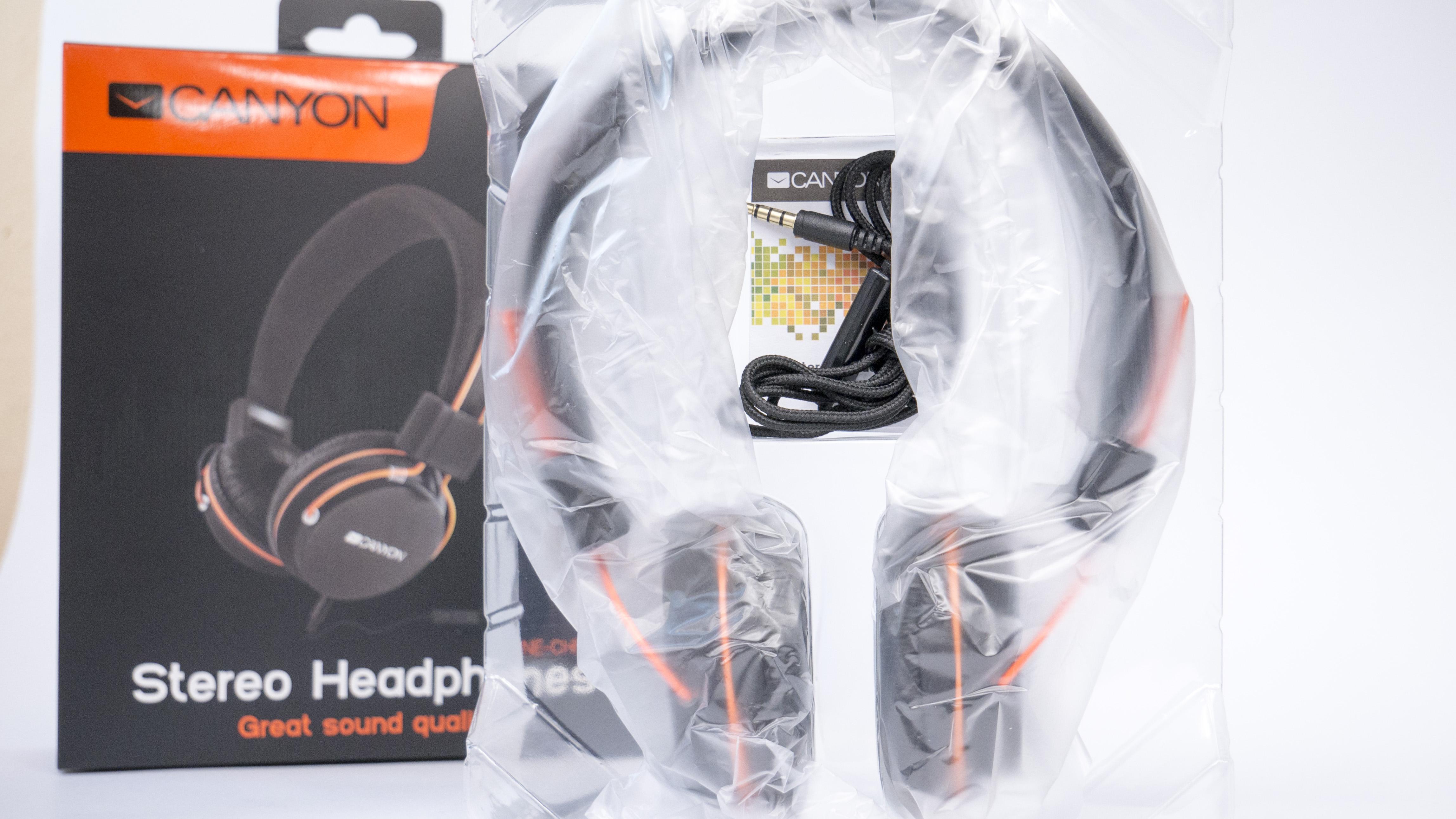 canyon слушалки - опаковка