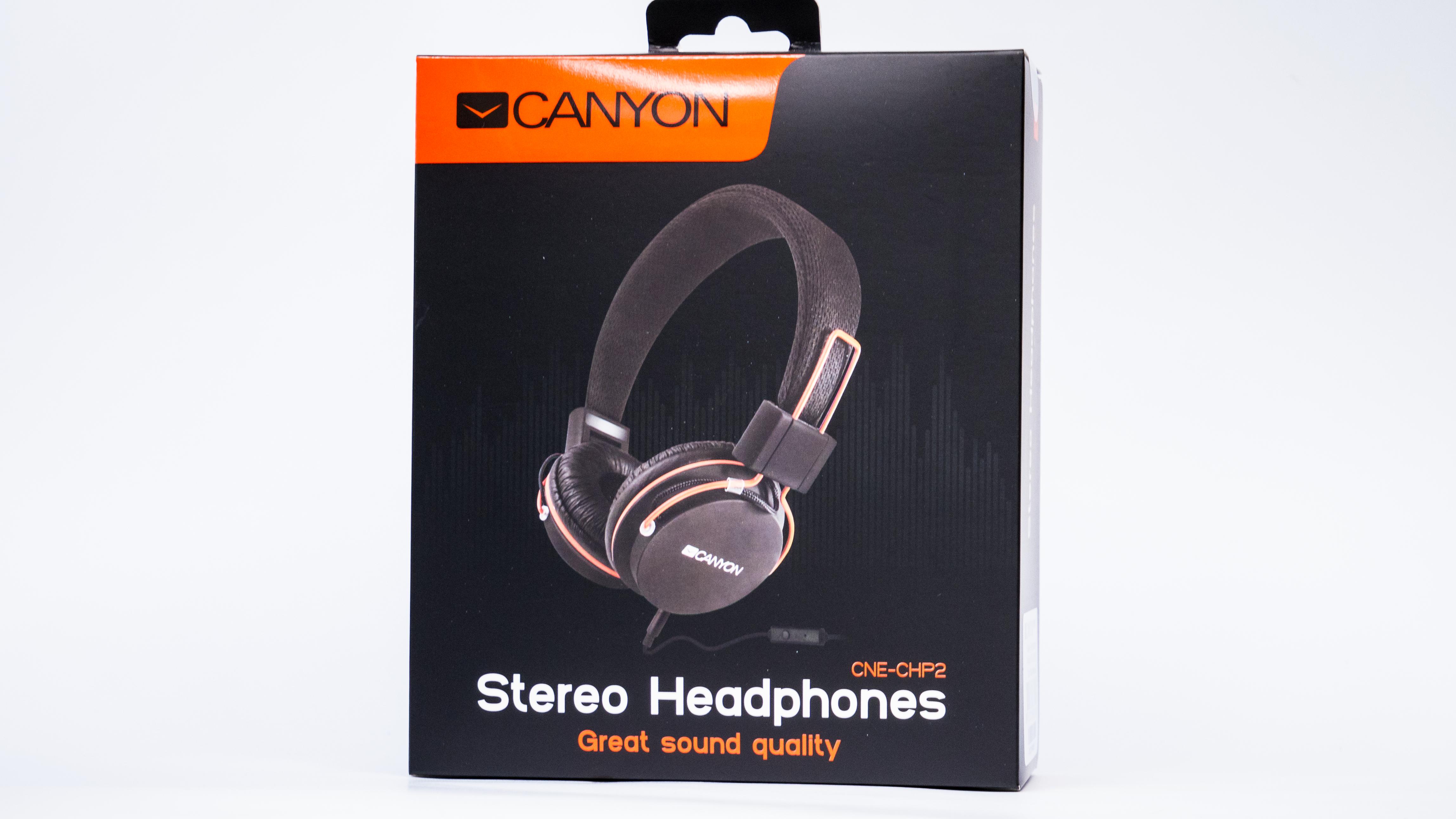 canyon слушалки - предна страна