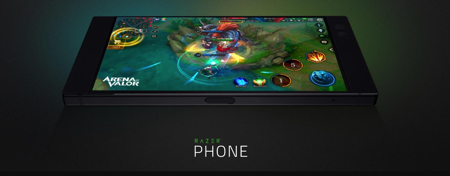 Razer phone - екран