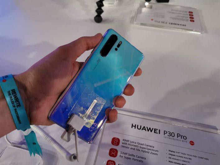Huawei P30 Pro - дизайн