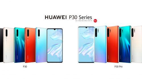 Huawei официално представи P30 и P30 Pro – характеристики