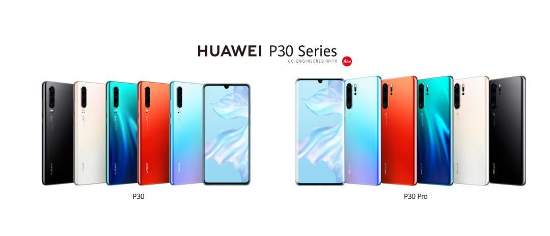 Huawei P30 - дизайн