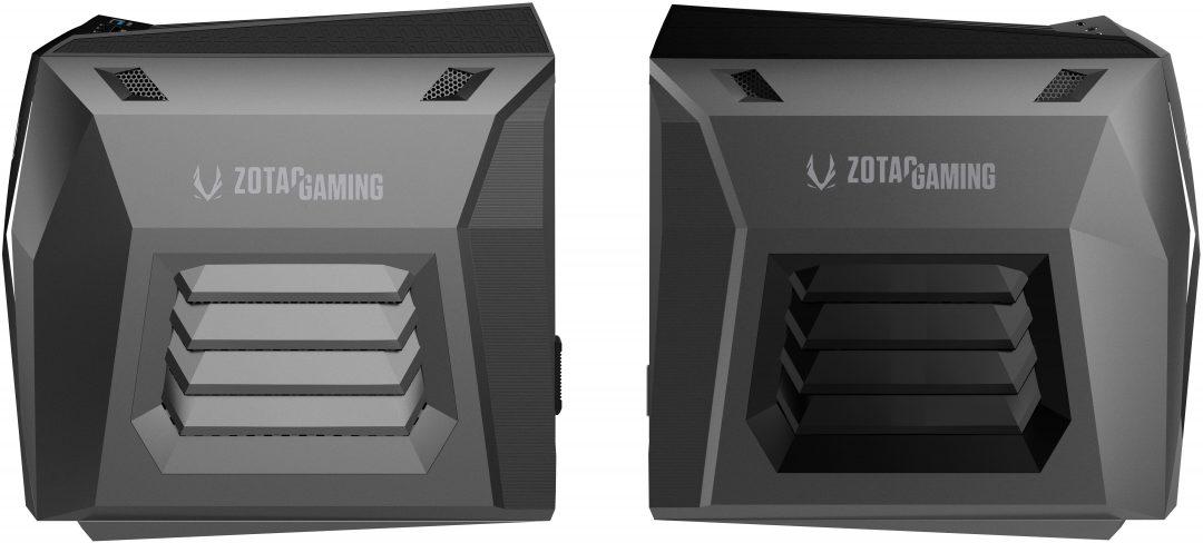 Zotac мини компютър - размер