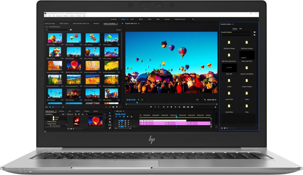 HP ZBook лаптоп