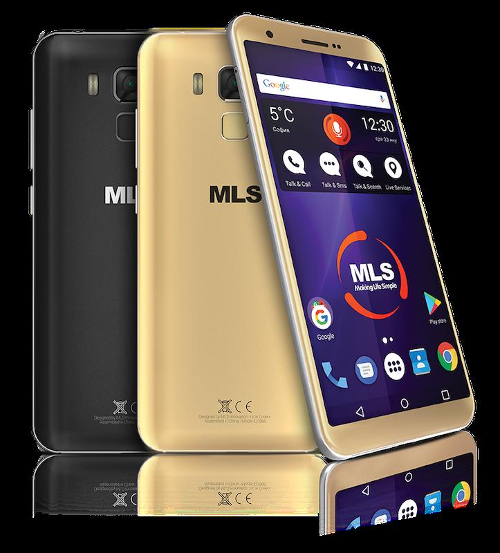 Смартфон MLS Range 4G