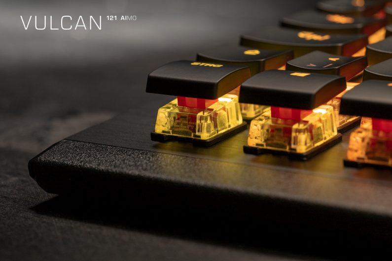 Геймърска клавиатура Roccat Vulcan 121 - Ash Black
