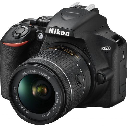 DSLR фотоапарат Nikon D3500 - идеи за коледни подаръци