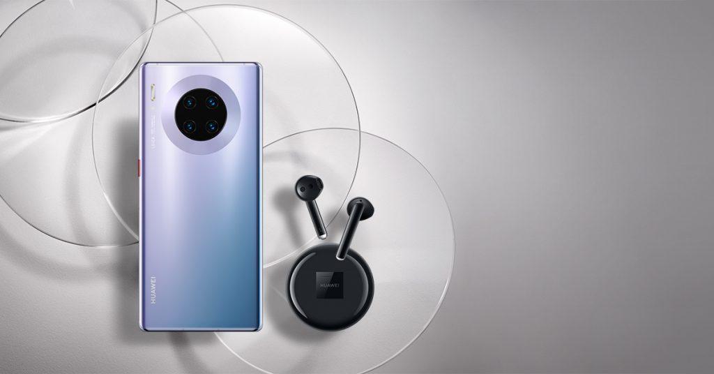 Huawei Mate 30 Pro и FreeBuds 3