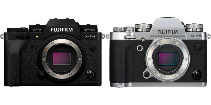 Fujifilm X-T4 & X-T3