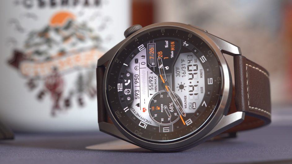Huawei Watch 3 Pro_циферблат