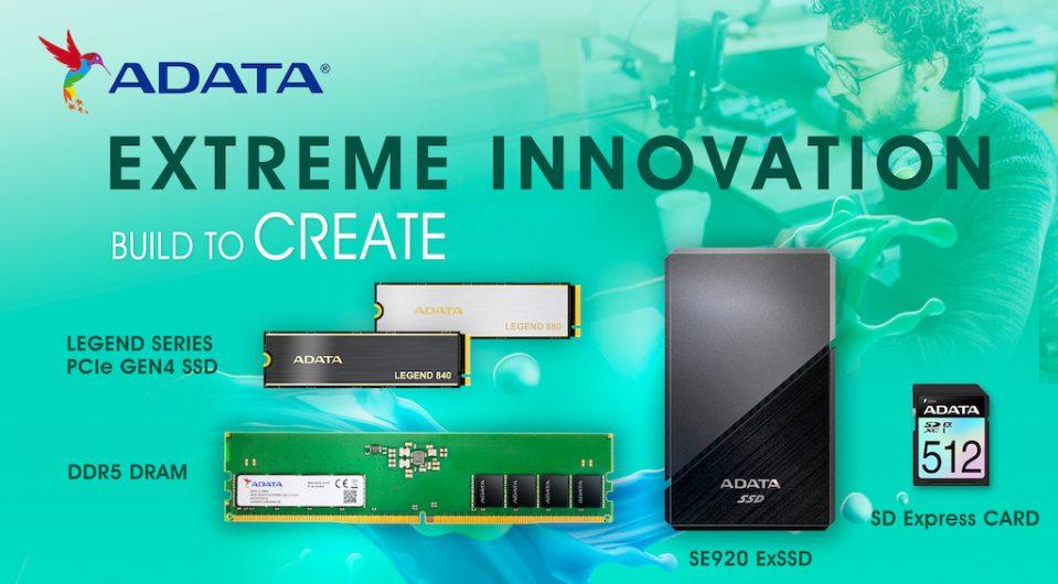 ADATA Creator Products